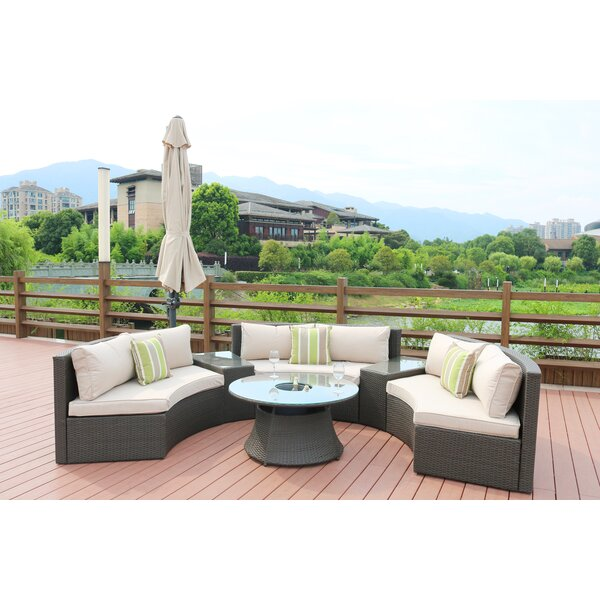 Sidwell 6 Piece Sofa Set with Cushions by Brayden Studio