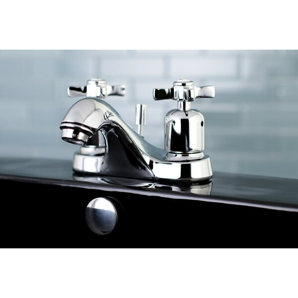 Millennium Centerset Bathroom Faucet with Drain Assembly by Kingston Brass Kingston Brass