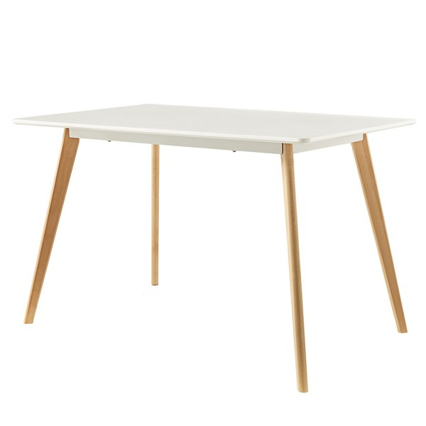 Clarkson Solid Wood Dining Table by George Oliver