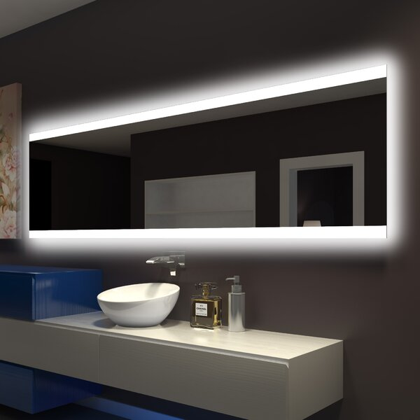 Backlit Bathroom/Vanity Wall Mirror by Paris Mirror