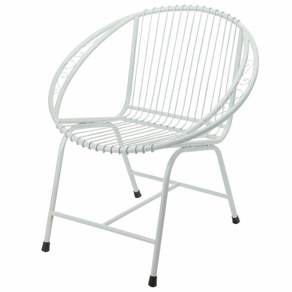 Engen Metal Wire Lounge Chair by Brayden Studio