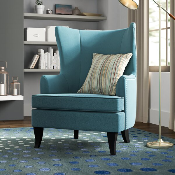 Daughtrey Wingback Chair by Alcott Hill