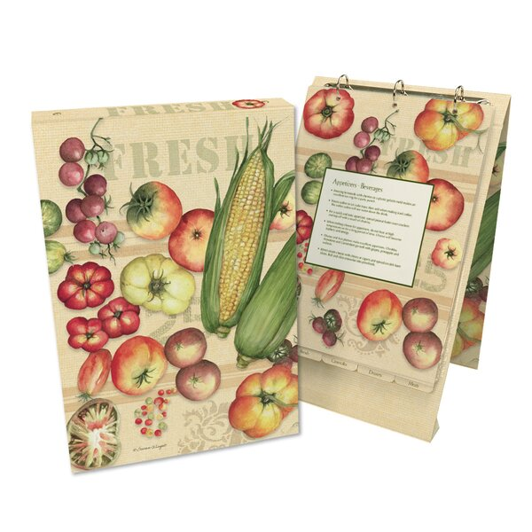 The Fresh from the Farm Vertical Recipe Card Ring Album by Lang