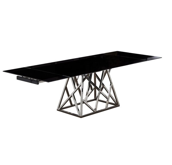 Twist Extendable Dining Table by Bellini Modern Living