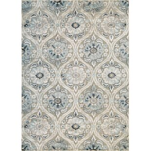 Best Reviews Walshville Greige/Antique Cream Area Rug By Darby Home Co