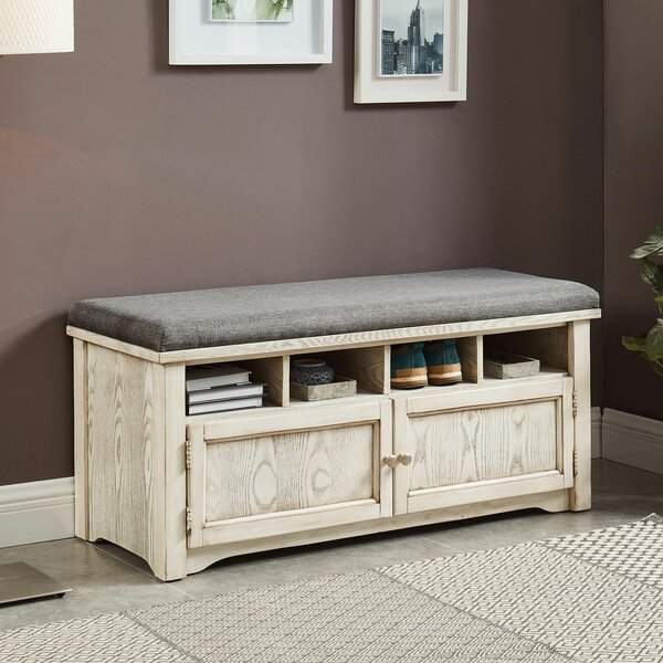 Pless Cubby Storage Bench by Darby Home Co Darby Home Co