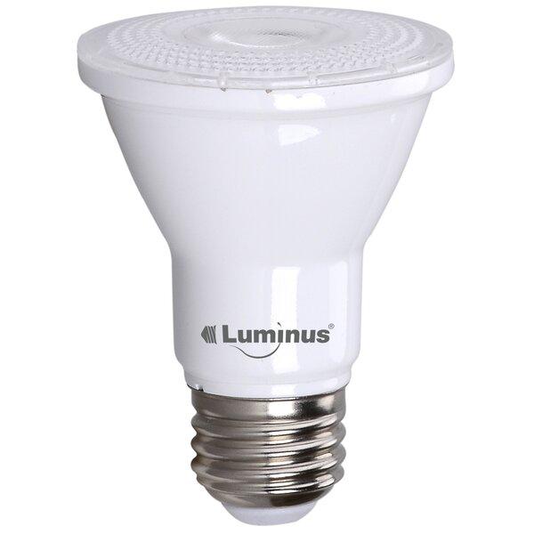 7W PAR20/Medium LED Light Bulb Pack of 6 (Set of 6) by Luminus