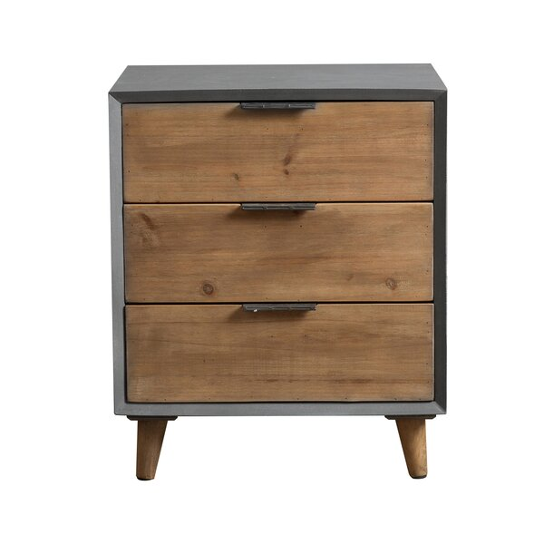 Stella 3 Drawer Wooden Cabinet Chest By Modern Rustic Interiors Cheap