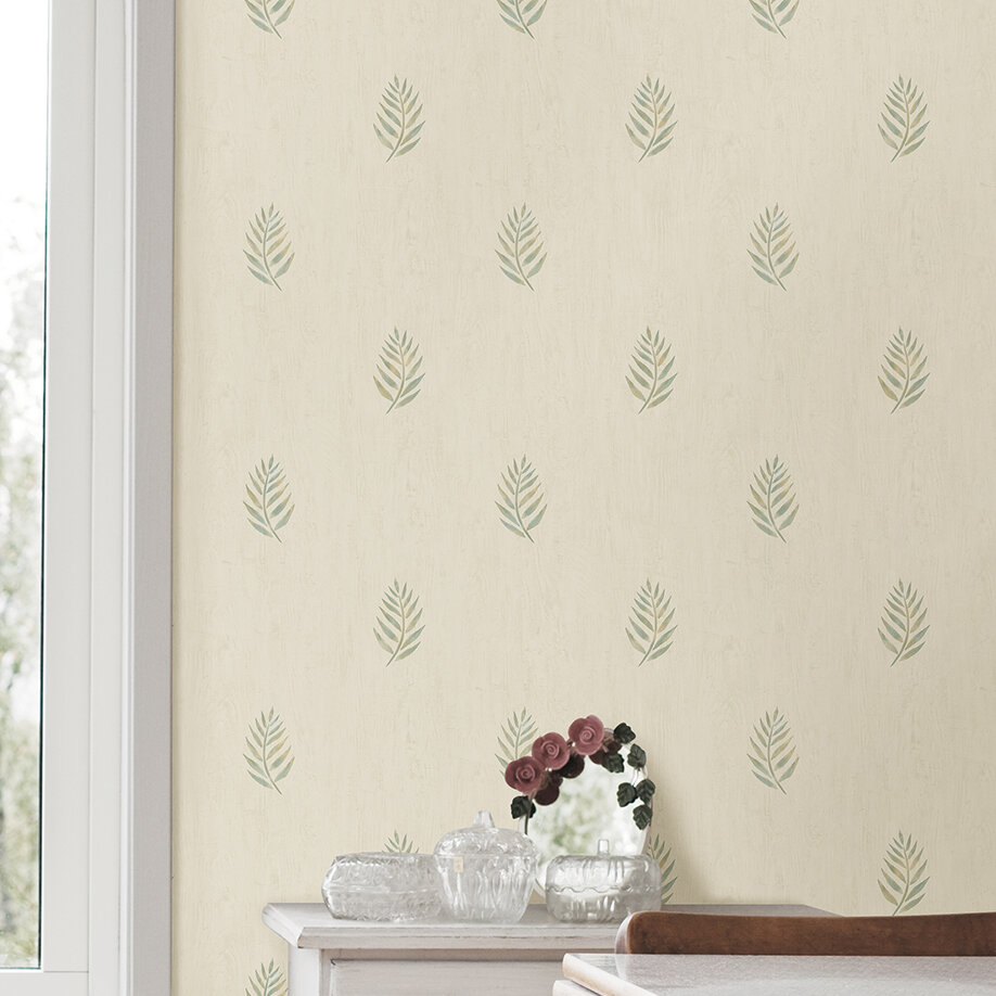 Barkhampstead Leaf 33 L X 20 5 W Floral And Botanical Wallpaper