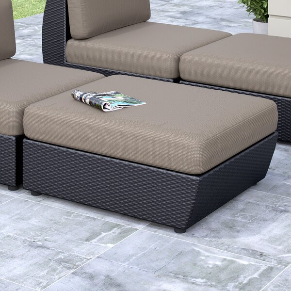 Seattle Patio Ottoman with Cushion by dCOR design