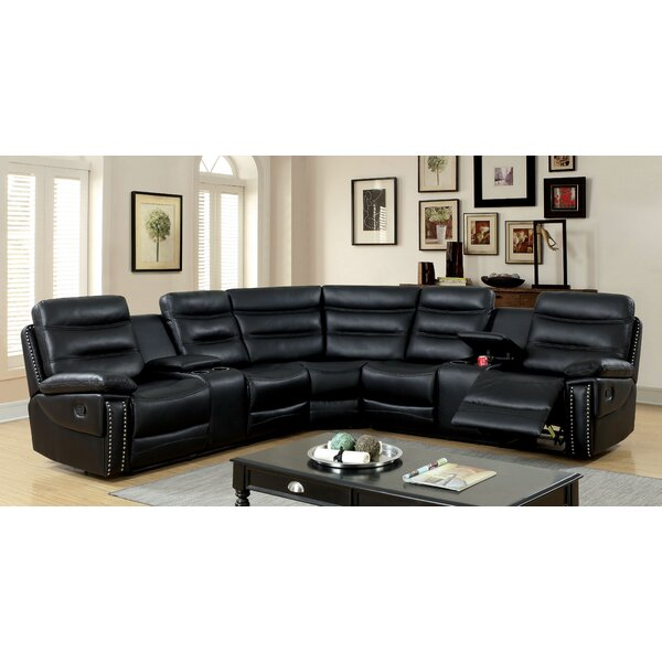 Burkart Reclining Sectional by Red Barrel Studio