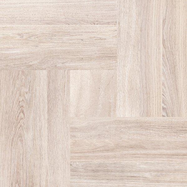 Parquet 20 x 20 Porcelain Wood Look/Field Tile in Cream by Emser Tile
