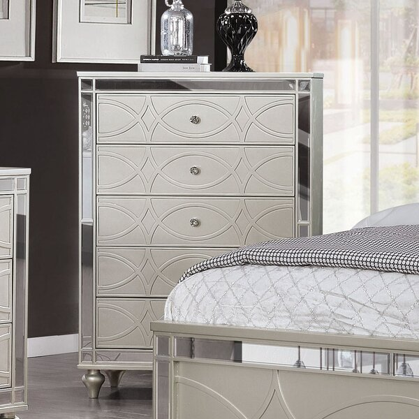 Cade 5 Drawer Chest by Rosdorf Park
