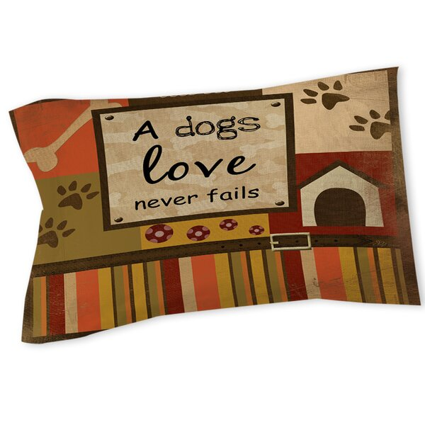 Love Never Fails Sham by Manual Woodworkers & Weavers