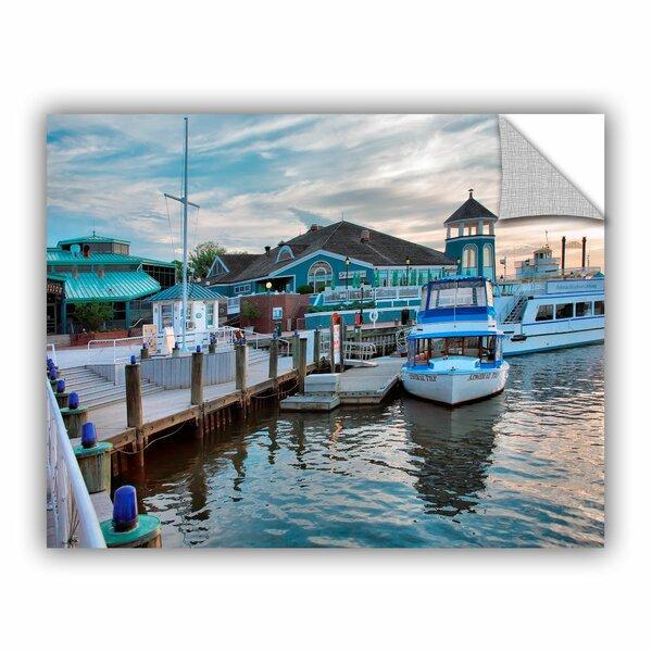 ArtApeelz Alexandria Waterfron by Steve Ainsworth Photographic Print on Canvas by ArtWall