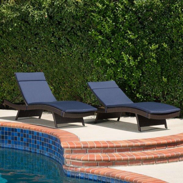 Cara Indoor/Outdoor Lounge Chair Cushion by Brayden Studio