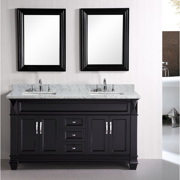 Rosalez 61 Single Bathroom Vanity Set with Mirror by Latitude Run