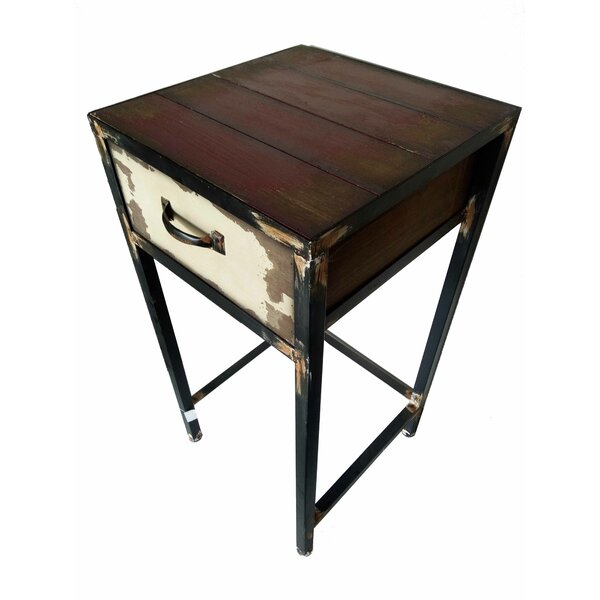 Seagle 1 Drawer Nightstand by August Grove