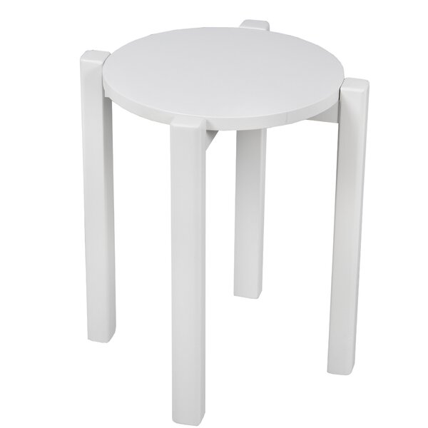 Benally Stackable Accent Stool by Ebern Designs