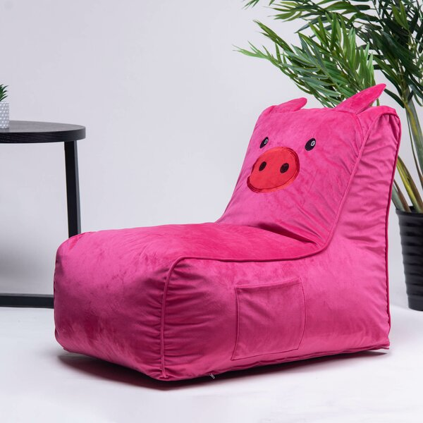 Small Bean Bag Chair & Lounger By Zoomie Kids