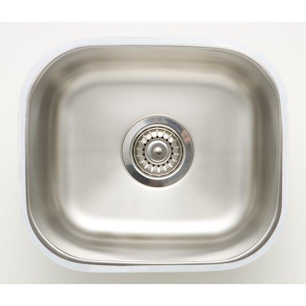 15 X 13 Undermount Kitchen Sink with 18 Gauge