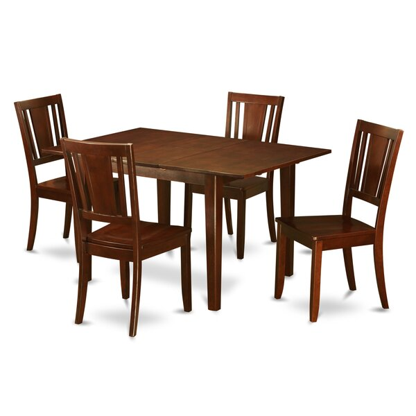 Cartley 5 Piece Extendable Dining Set by Red Barrel Studio