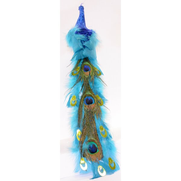 Decorative Peacock Bird Garland by The Holiday Aisle