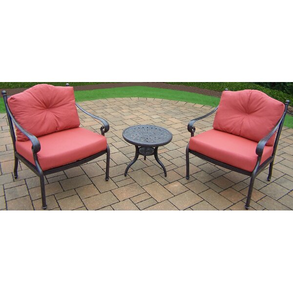 Berkley 3 Piece Conversation Set with Cushions by Oakland Living