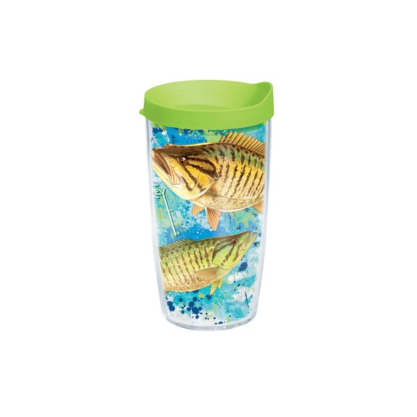 Guy Harvey Bass Plastic Travel Tumbler by Tervis Tumbler