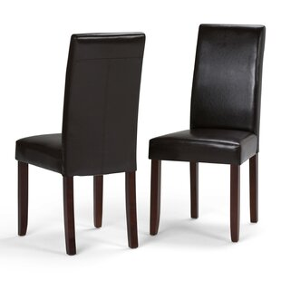 Reviews Acadian Upholstered Dining Chair (Set of 2) By Simpli Home