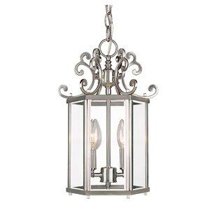 Read Reviews Eaton 2-Light Foyer Pendant By Astoria Grand