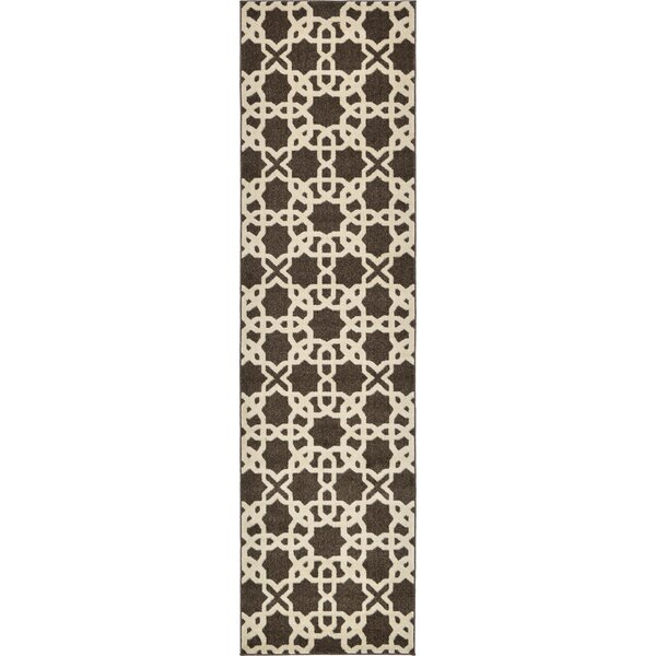 Moore Brown Area Rug by Charlton Home