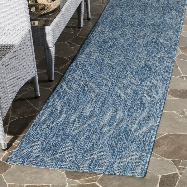 Brodie Navy Indoor/Outdoor Area Rug by Langley Street