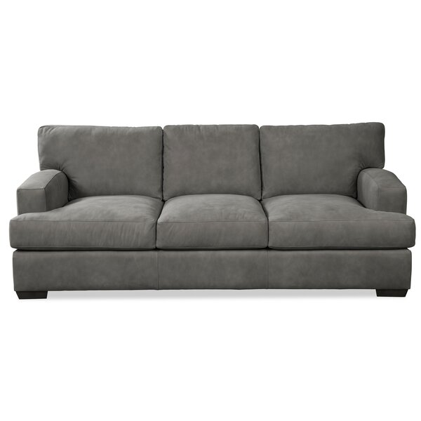 Ash Leather Sofa By Craftmaster