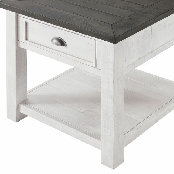 Jacklyn End Table With Storage By Rosecliff Heights