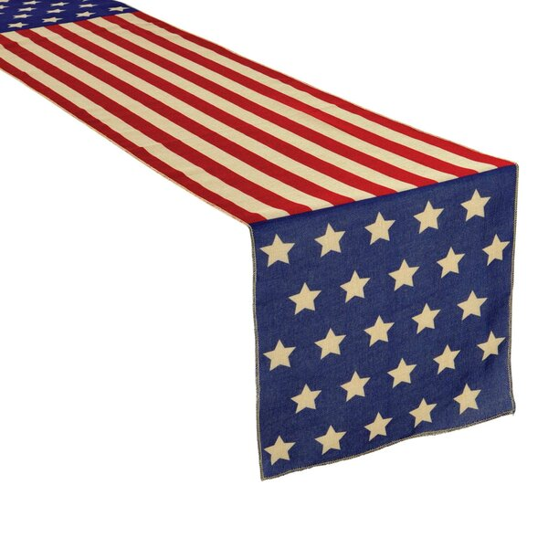 Patriotic Table Runner by Amscan