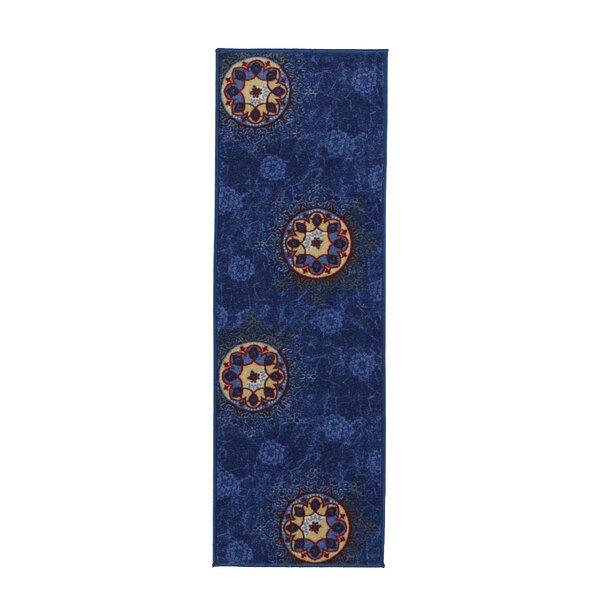Deidra Floral Blue Area Rug by Zipcode Design