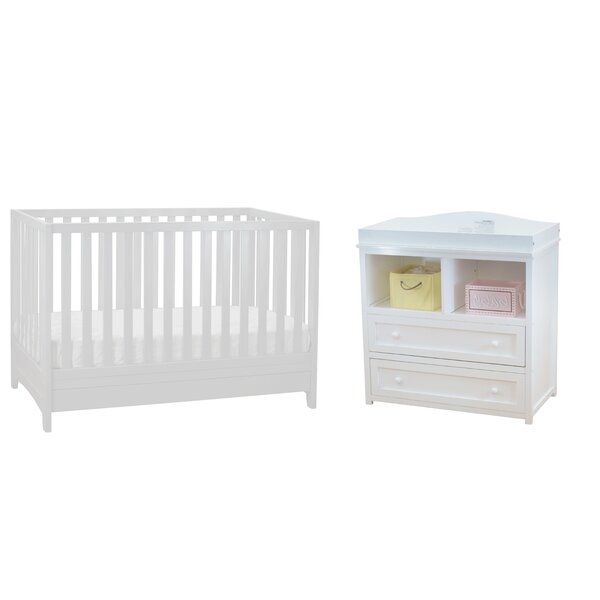 Boller 3-in-1 Convertible 2 Piece Crib Set by Harriet Bee