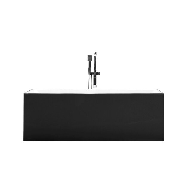 Long Beach 58.8 x 29.75 Soaking Bathtub by MTD Vanities
