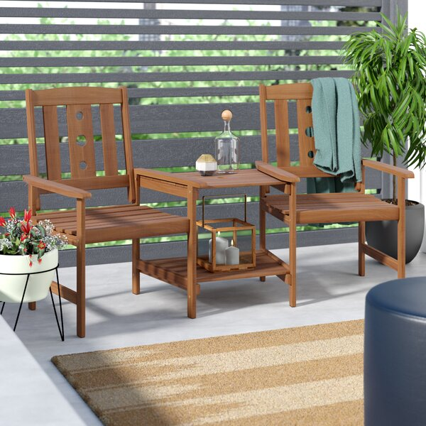 Arianna 3 Piece Conversation Set by Langley Street