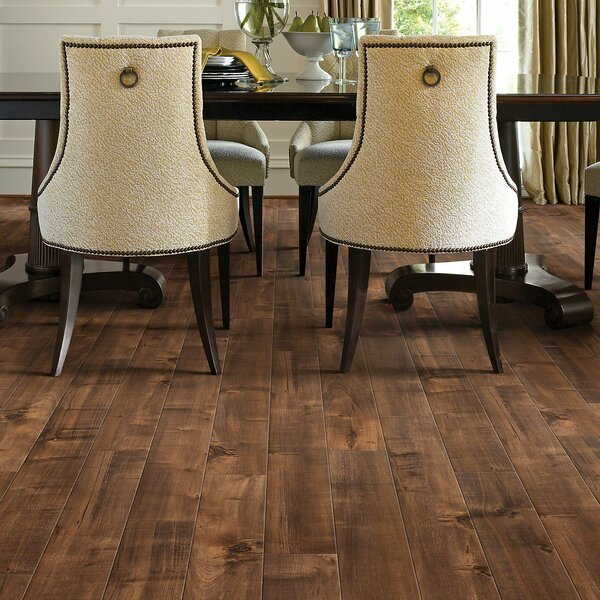 Boardwalk 5 x 48 x 10mm Laminate Flooring in Pier by Shaw Floors