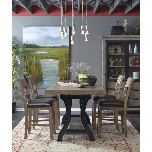 Fort Oglethorpe 5 Piece Dining Set by Laurel Foundry Modern Farmhouse