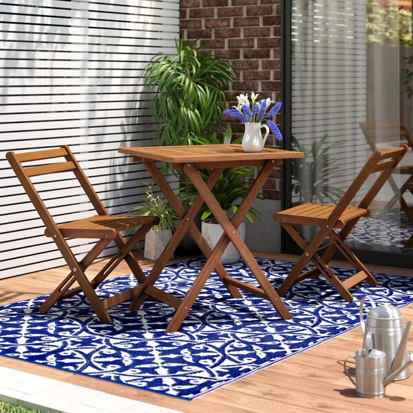 Arianna 3 Piece Bistro Set by Langley Street