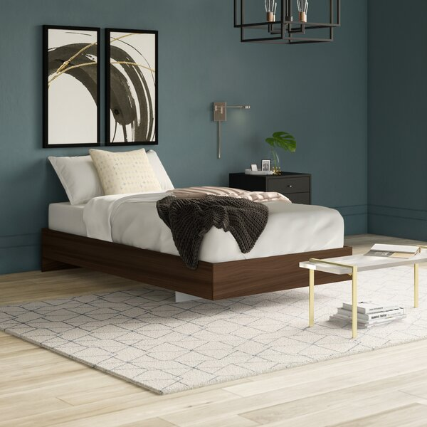 Duley Twin Platform Bed by Mercury Row