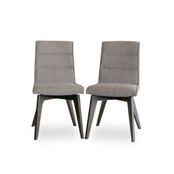 Kirt Upholstered Dining Chair (Set of 2) by Ivy Bronx Ivy Bronx