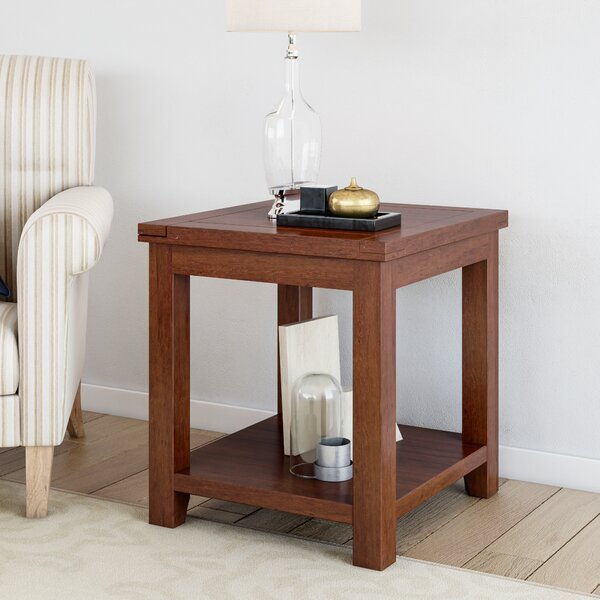 Beryl End Table by Three Posts