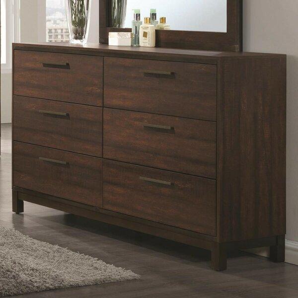 Toxey Wooden 6 Drawer Dresser by Orren Ellis