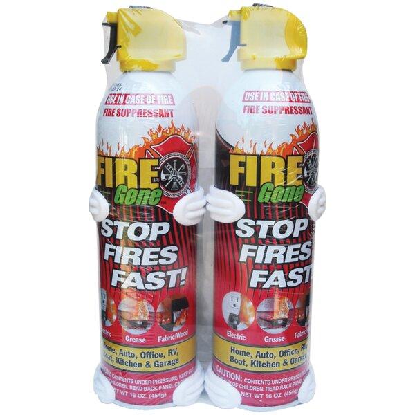 Suppressants With Bracket Fire Extinguisher (Set o