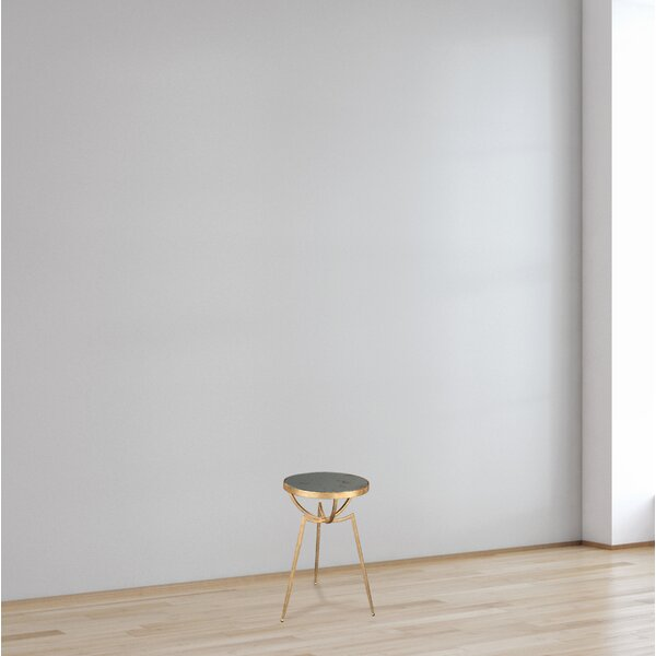 Canvey Tripod End Table by Everly Quinn