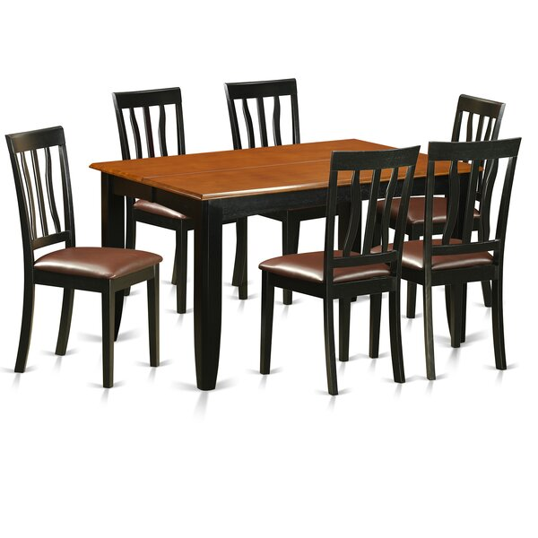 Parfait 7 Piece Extendable Dining Set by Wooden Importers